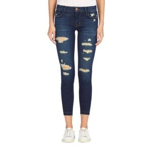 J BRAND 9326 Cropped Skinny in Demented Trouble